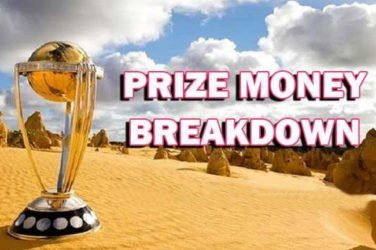 ICC Cricket World Cup 2019 prize money.