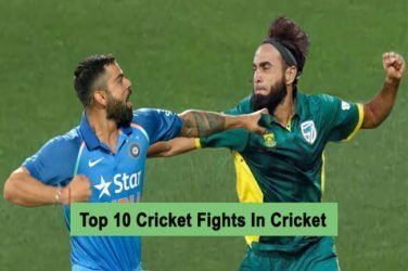 Top 10 Cricket Fights