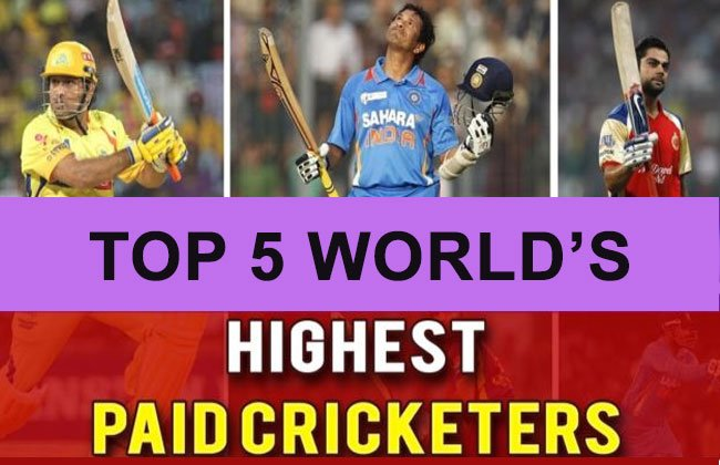 Highest Paid Cricketers