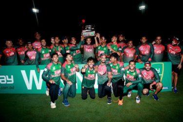 Bangladesh beat West Indies