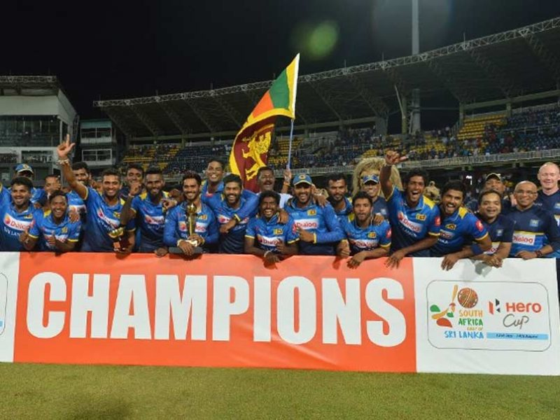 Sri Lanka beat South Africa by 3 wickets in only T20I
