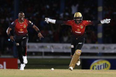 Trinidad Knight Riders beat St Lucia Stars