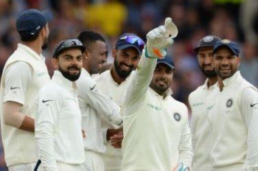 Rishabh Pant the wicketkeeper
