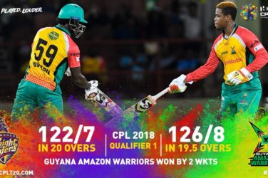 Green, Hetmyer carry Amazon Warriors to CPL final