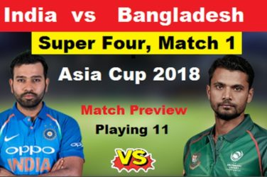 Super 4 Preview India vs Bangladesh