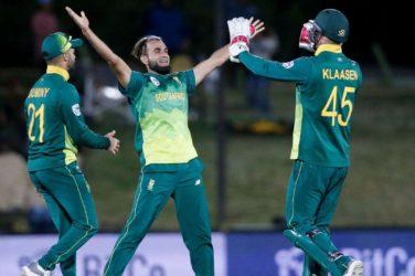 South Africa vs Zimbabwe 2nd ODI