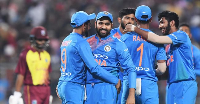 India vs West Indies 1st T20, India win by five wickets