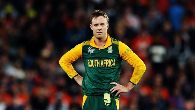 Who made this schedule? I'm loving it – AB de Villiers