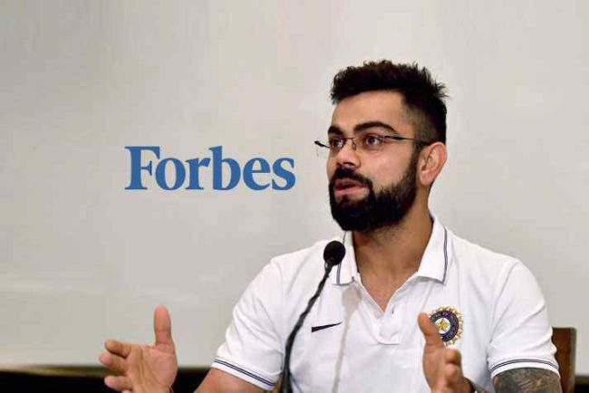 Forbes highest paid athletes of 2018: Kohli named again