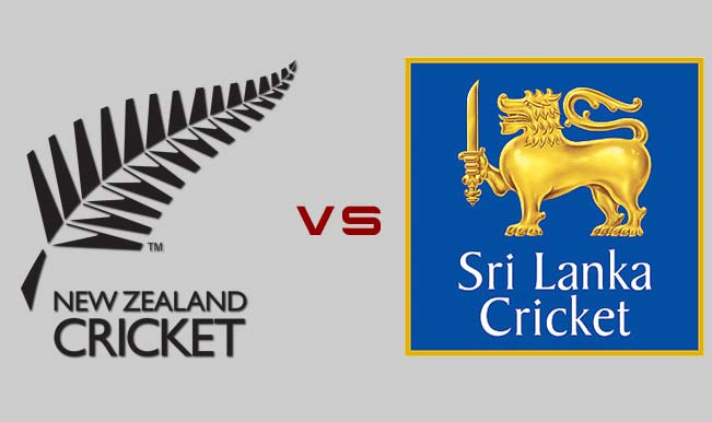 Sri Lanka vs New Zealand Live Scores, Schedule, Squads, 2018-19