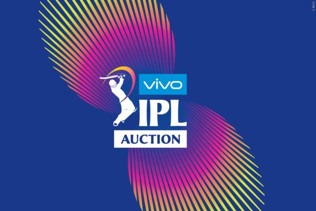 Vivo IPL 2019 Player Auction  list announced