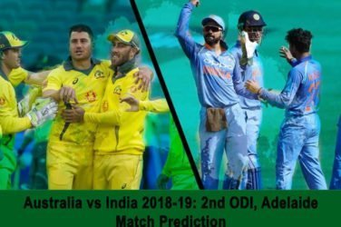 Australia vs India 2018-19 2nd ODI, Adelaide