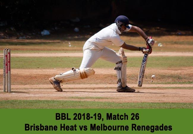 Brisbane Heat vs Melbourne Renegades
