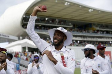 Chase 8-fer powers Windies to record win