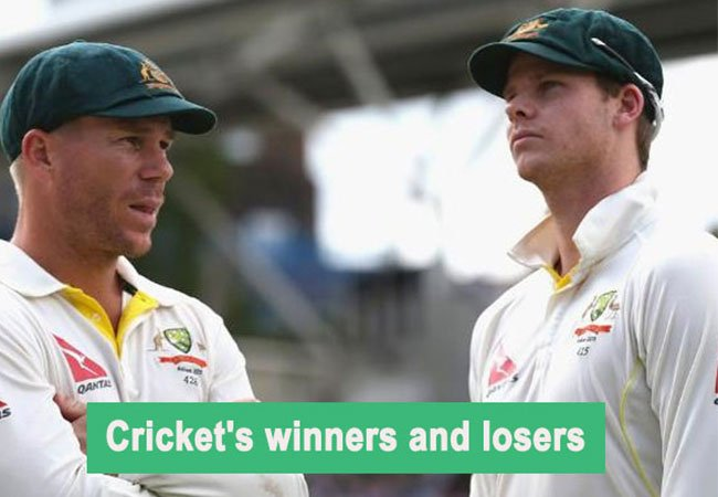 Cricket's winners and losers in 2018