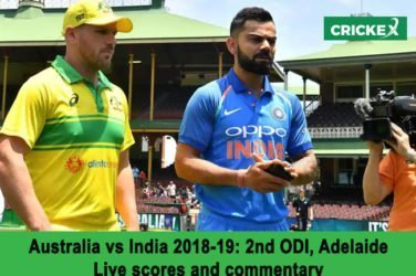India vs Australia, 2nd ODI: Live scores