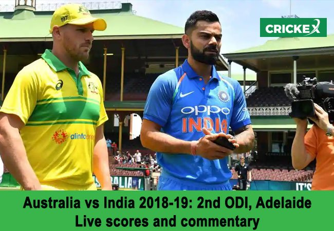 India vs Australia, 2nd ODI: Live scores and commentary