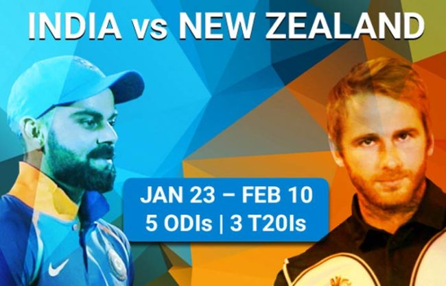 India vs New Zealand 2019: Full schedule, fixtures and live streaming