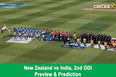 New Zealand vs India, 2nd ODI