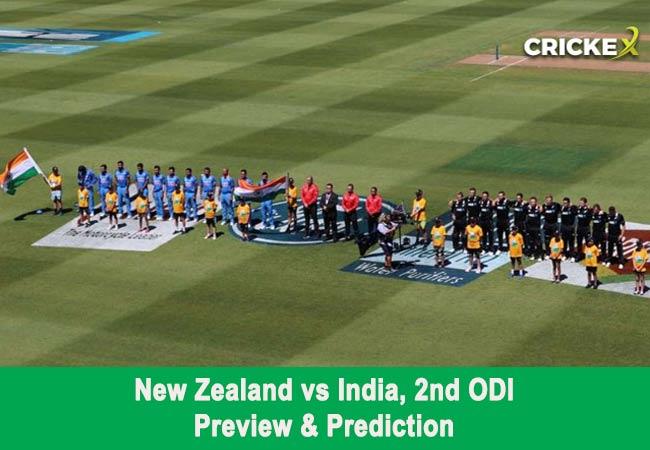 New Zealand vs India, 2nd ODI