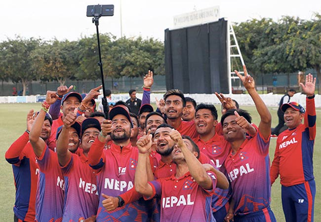 Nepal historic ODI series win