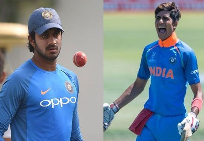 Shubman Gill and Vijay Shankar to replace Rahul and Pandya