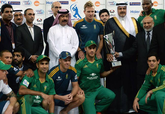 South Africa's series win