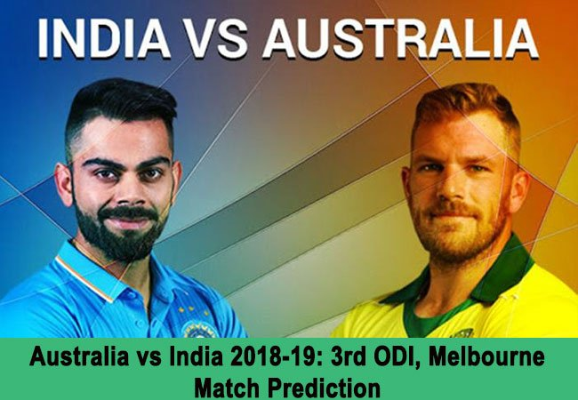 Australia vs India 2018-19: 3rd ODI, Melbourne – Match Prediction