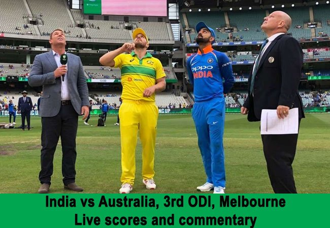 India vs Australia, 3rd ODI: Live scores and commentary