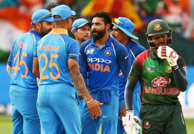 India to play New Zealand and Bangladesh