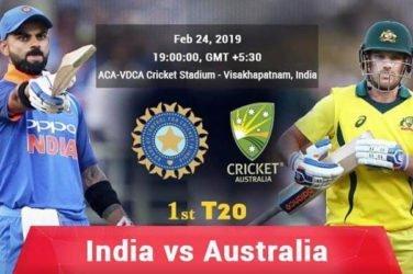 India vs Australia 1st T20I Preview