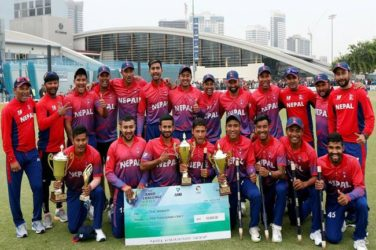 Nepal clinch T20 series