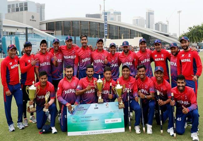 Nepal clinch T20 series