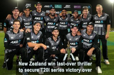 New Zealand secure T20I series victory over India