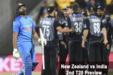 New Zealand vs India 2nd T20 Preview