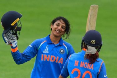 Smriti Mandhana becomes No.1 batter