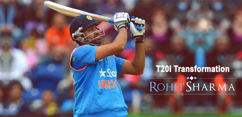 Rohit Sharma's Sensational T20I Transformation