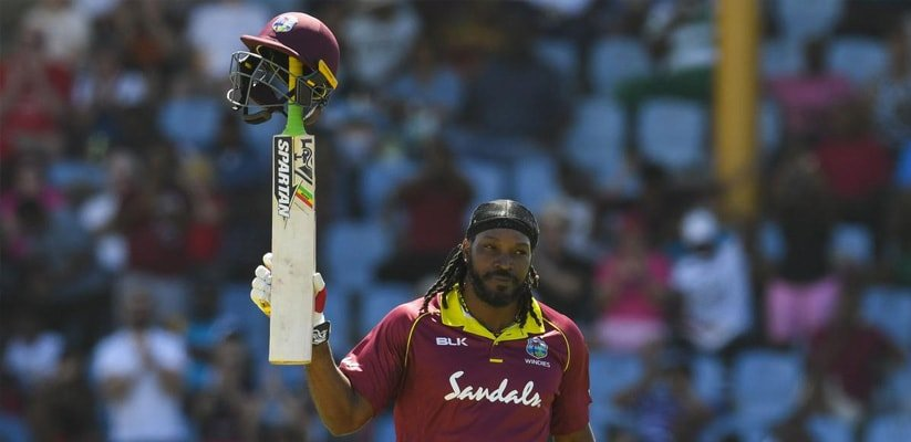 Chris Gayle's 77 off just 27 balls