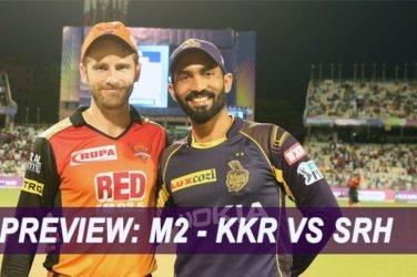 IPL 2019 Match Preview: M2 - KKR VS SRH