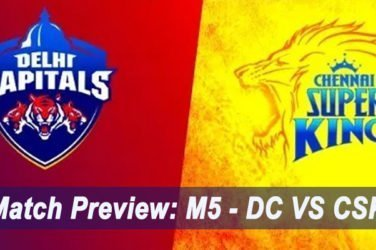 IPL 2019 Match Preview: M5 - DC VS CSK