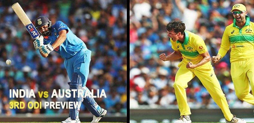 India vs Australia 3rd ODI Preview