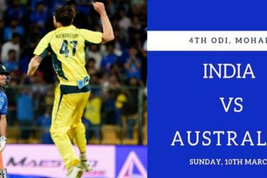 India vs Australia 4rd ODI Preview