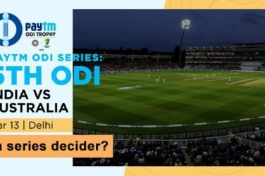 India vs Australia 5th ODI Preview