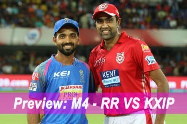 IPL 2019 Match Preview M4 - RR VS KXIP