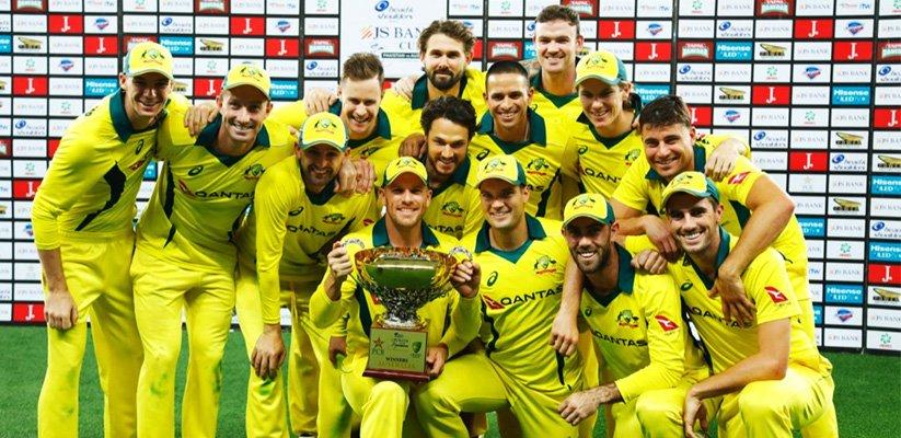 Australia whitewash Pakistan 5-0