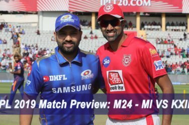 IPL 2019 Match Preview M24 - MI VS KXIP