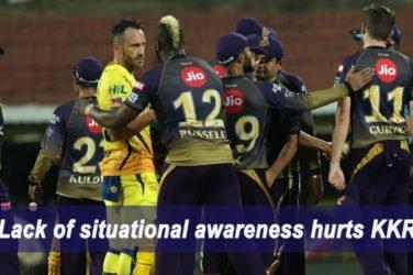 IPL 2019 Match Report M23 – CSK VS KKR