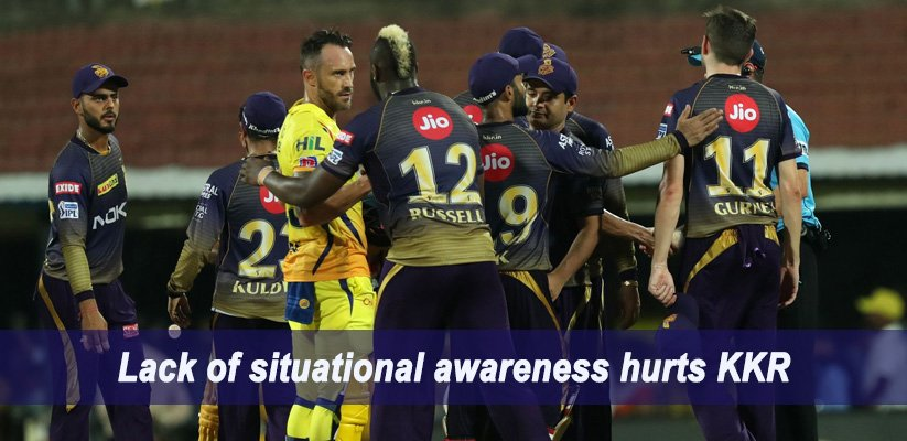 IPL 2019 Match Report M23 – CSK VS KKR
