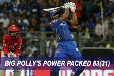 IPL 2019 Match Report M24 – MI VS KXIP