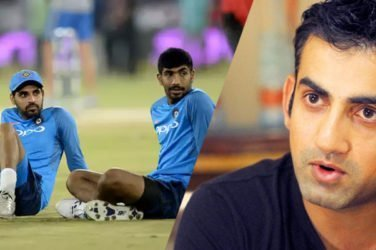 Gambhir believes India are a pacer short